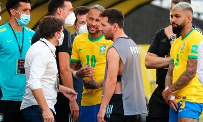 Brésil/Argentine interrompu par les autorités brésiliennes pour règles sanitaires, Messi s'est agacé