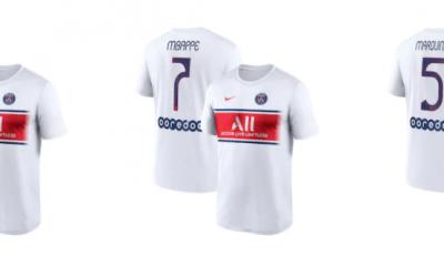 """Officiel - Le PSG et Nike sortent un nouveau maillot """"fan"""""""