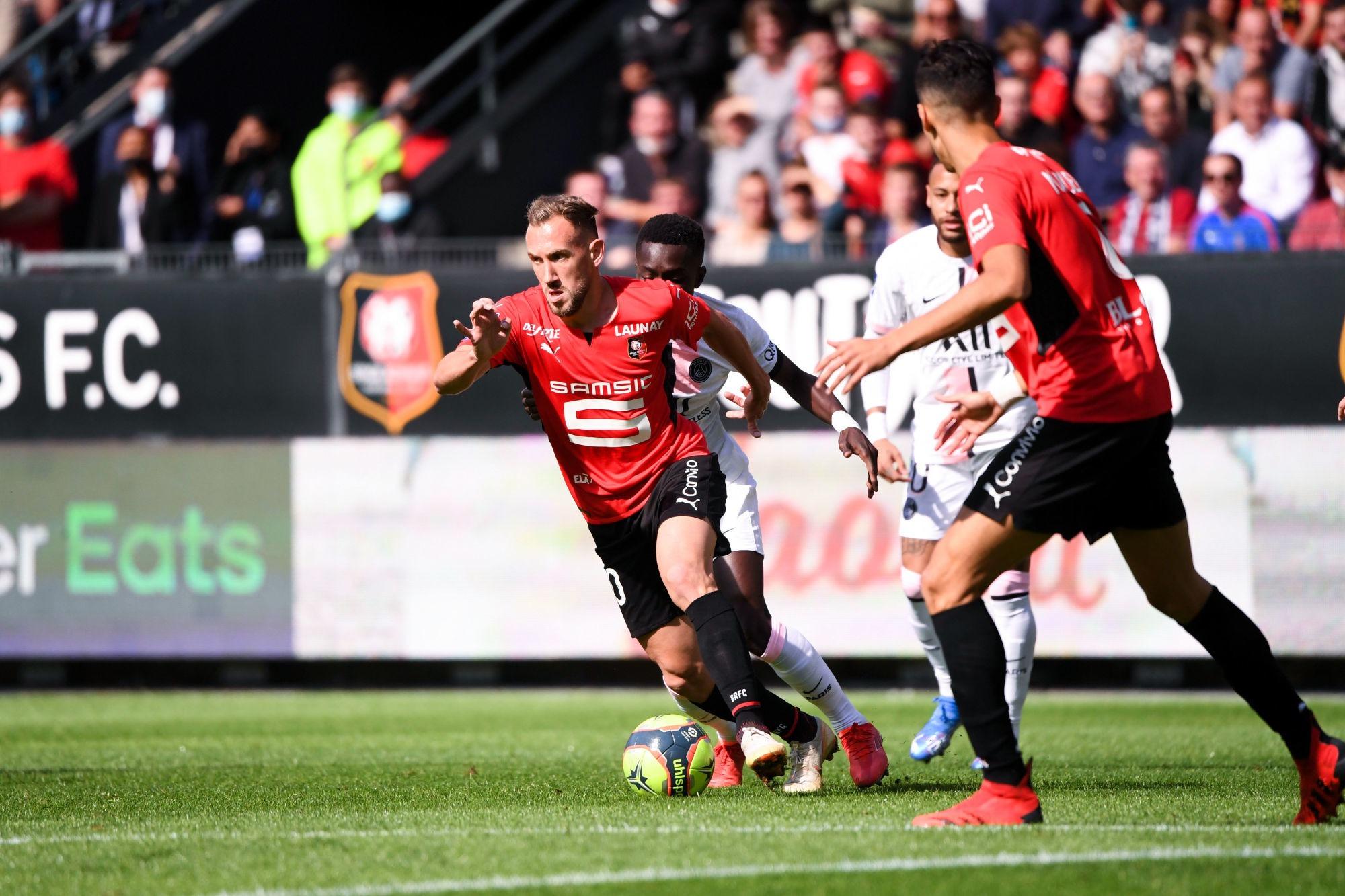 """Rennes/PSG - Flavien Tait: """"On les a bousculés"""""""