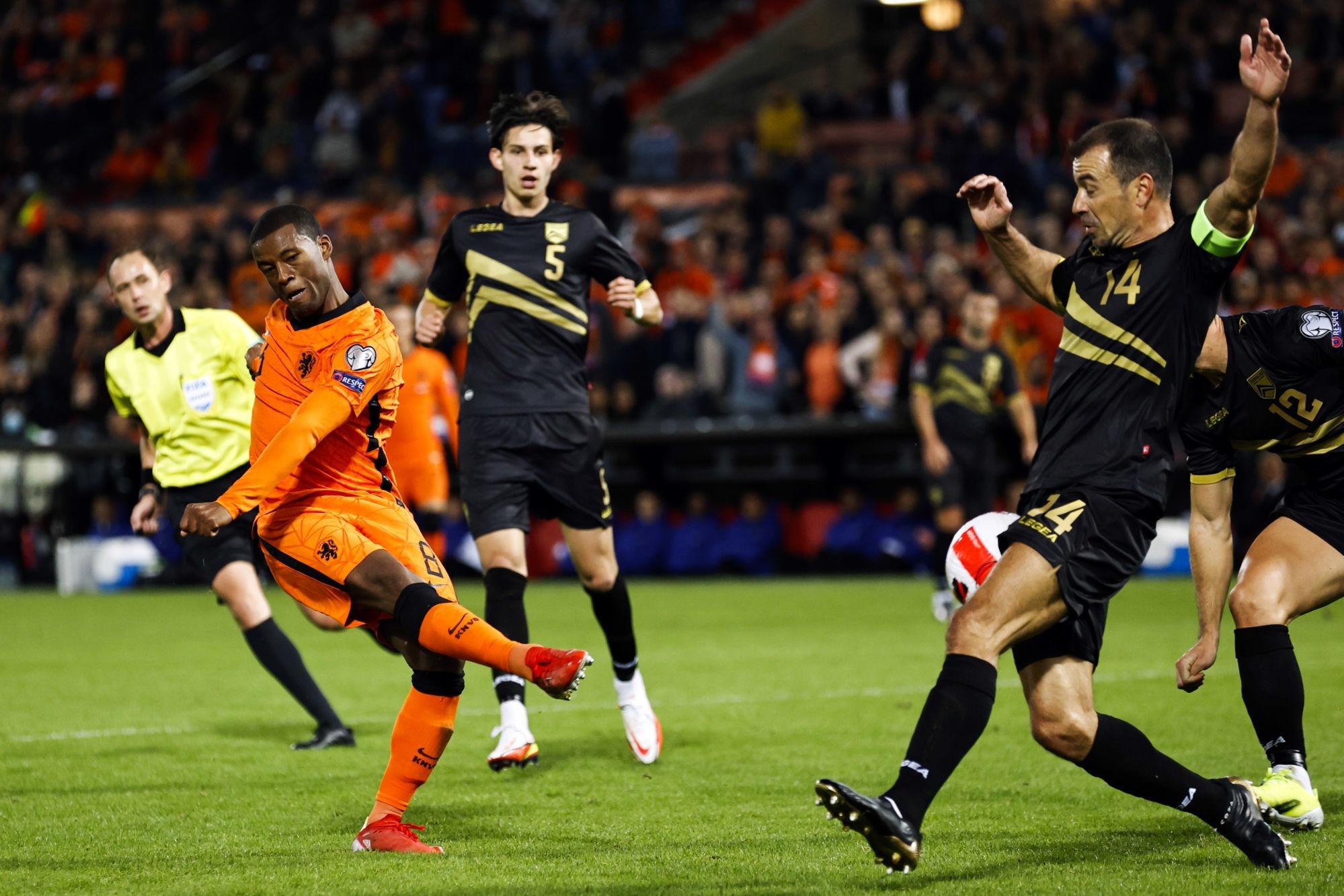 Pays-Bas/Gibraltar - Wijnaldum titulaire peu convaincant lors de la large victoire