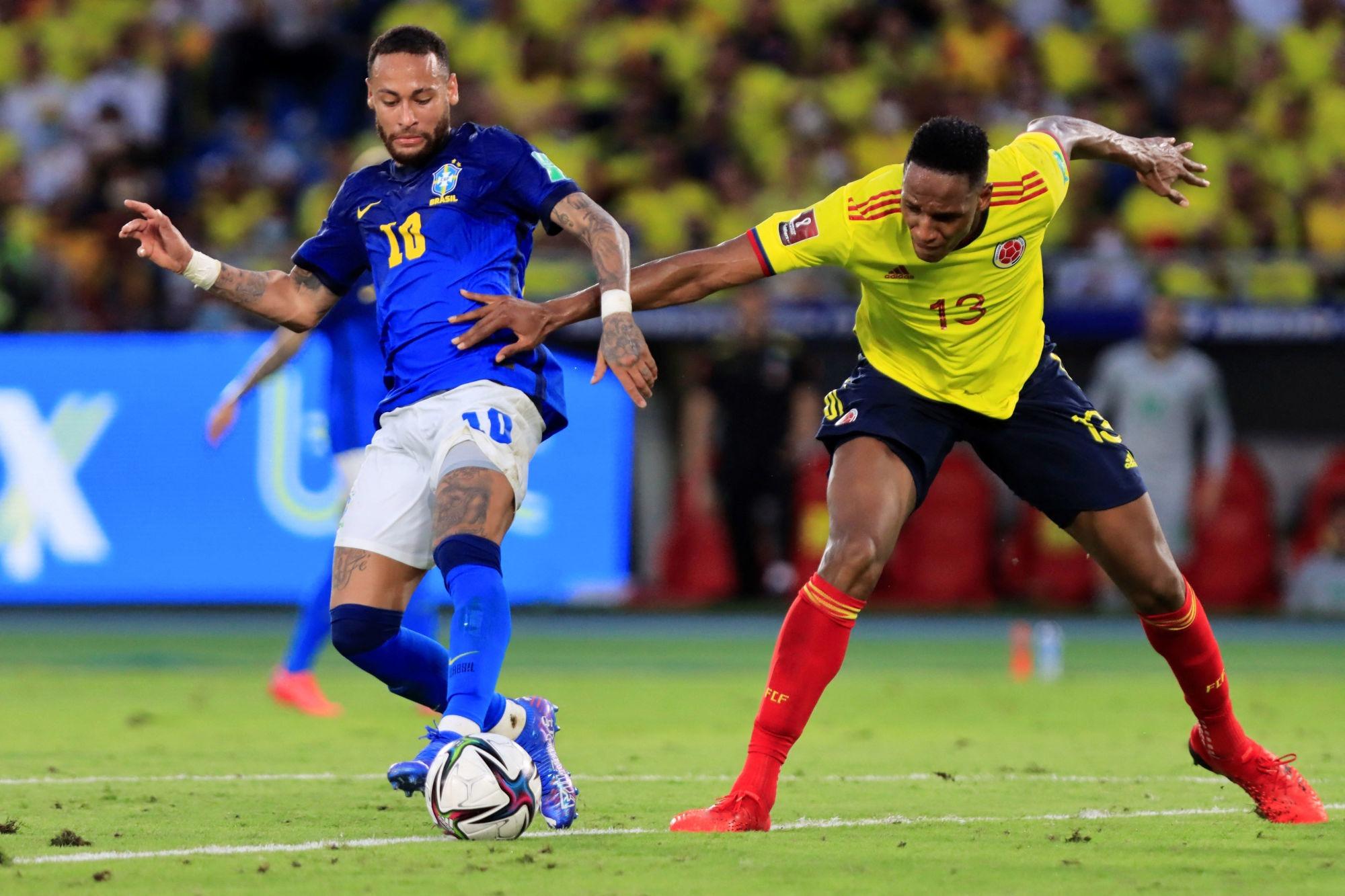 Colombie/Brésil - Neymar irrégulier, Marquinhos solide lors du match nul