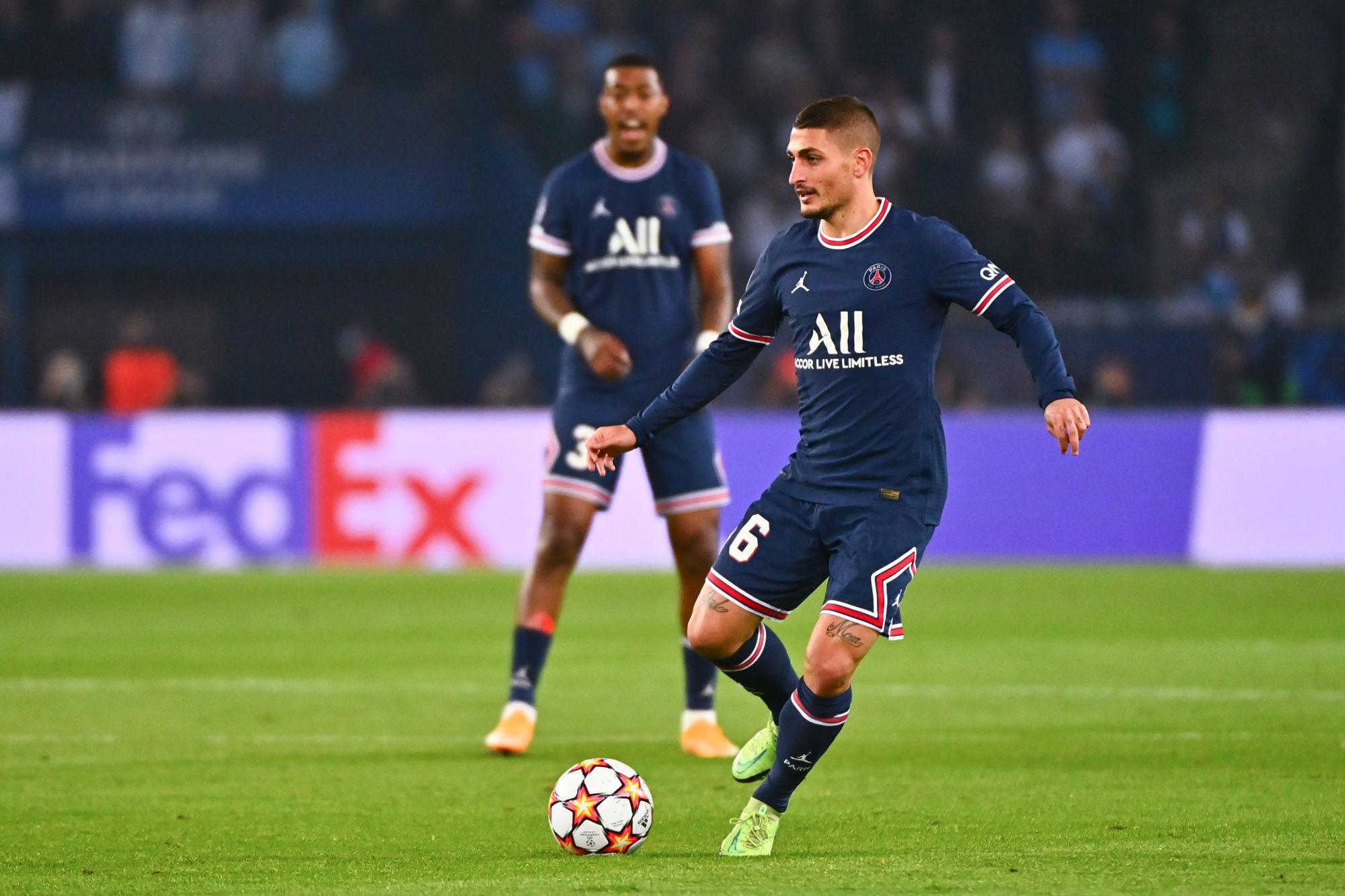 """Verratti revient sur la déclaration d'amour de Guardiola """"je suis heureux"""""""