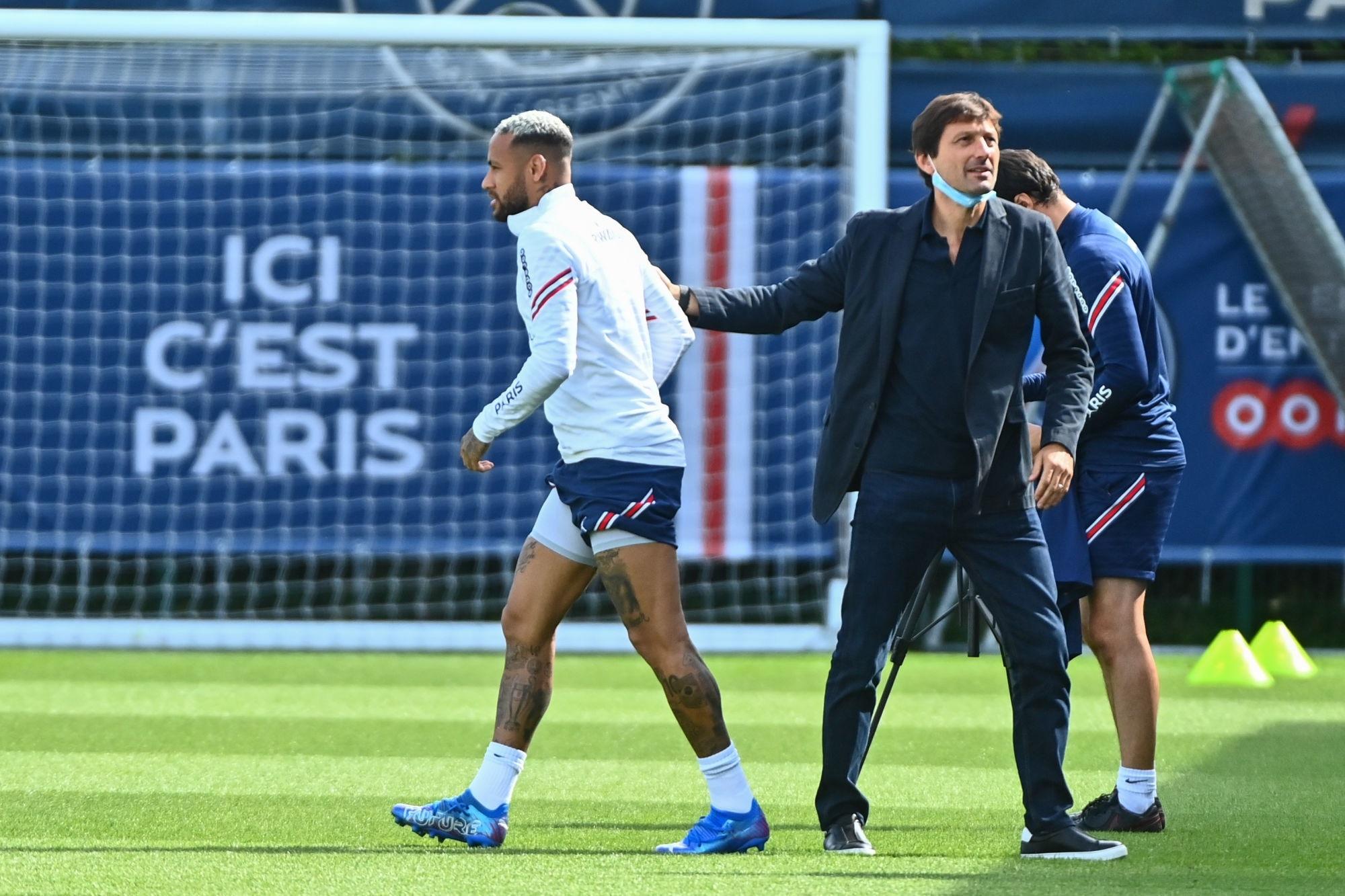 """Neymar aurait """"rassuré"""" Leonardo après sa déclaration"""