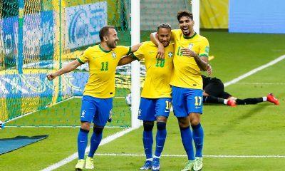 Brésil/Uruguay - Neymar buteur et passeur décisif lors de la victoire brésilienne