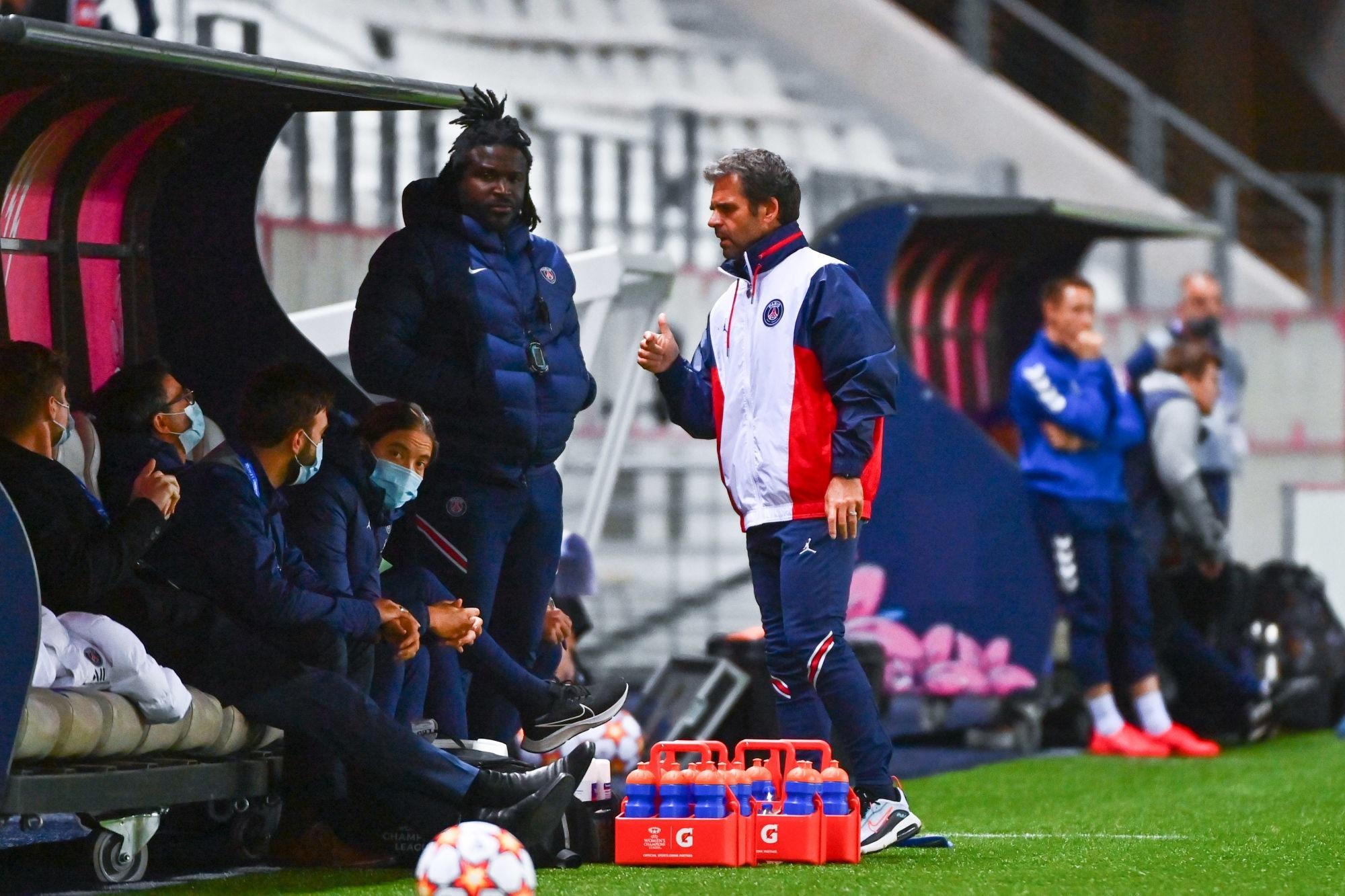 "PSG/Kharkiv - Ollé-Nicolle savoure ""collectivement nous sommes forts"""