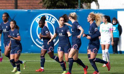 PSG/Saint-Etienne - Les Parisiennes s'imposent et restent 2es