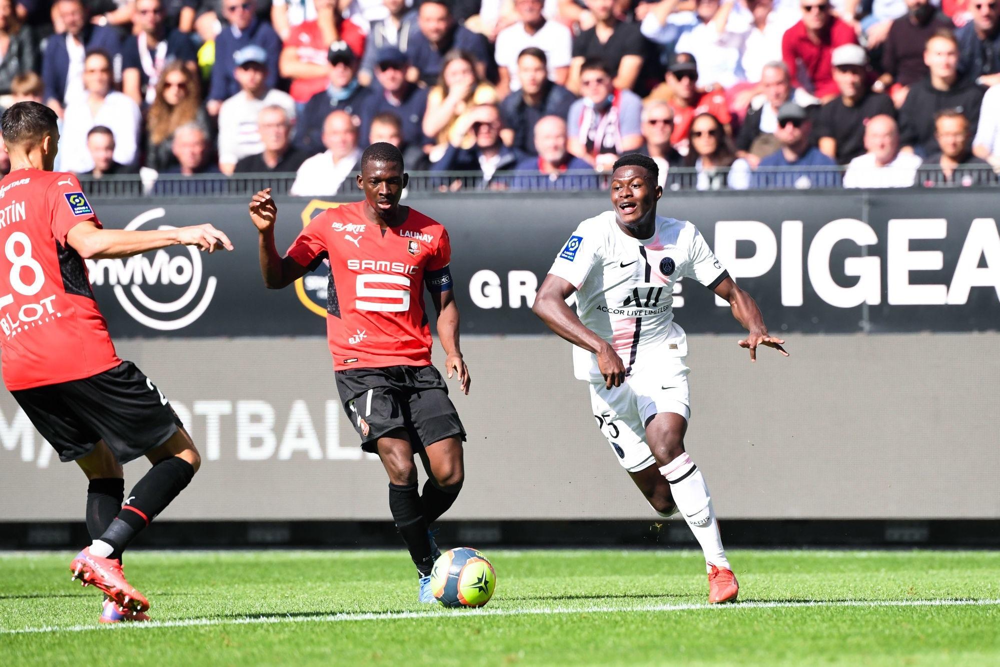 """Rennes/PSG - Traoré savoure """"On a joué contre des champions, on a joué à fond."""""""
