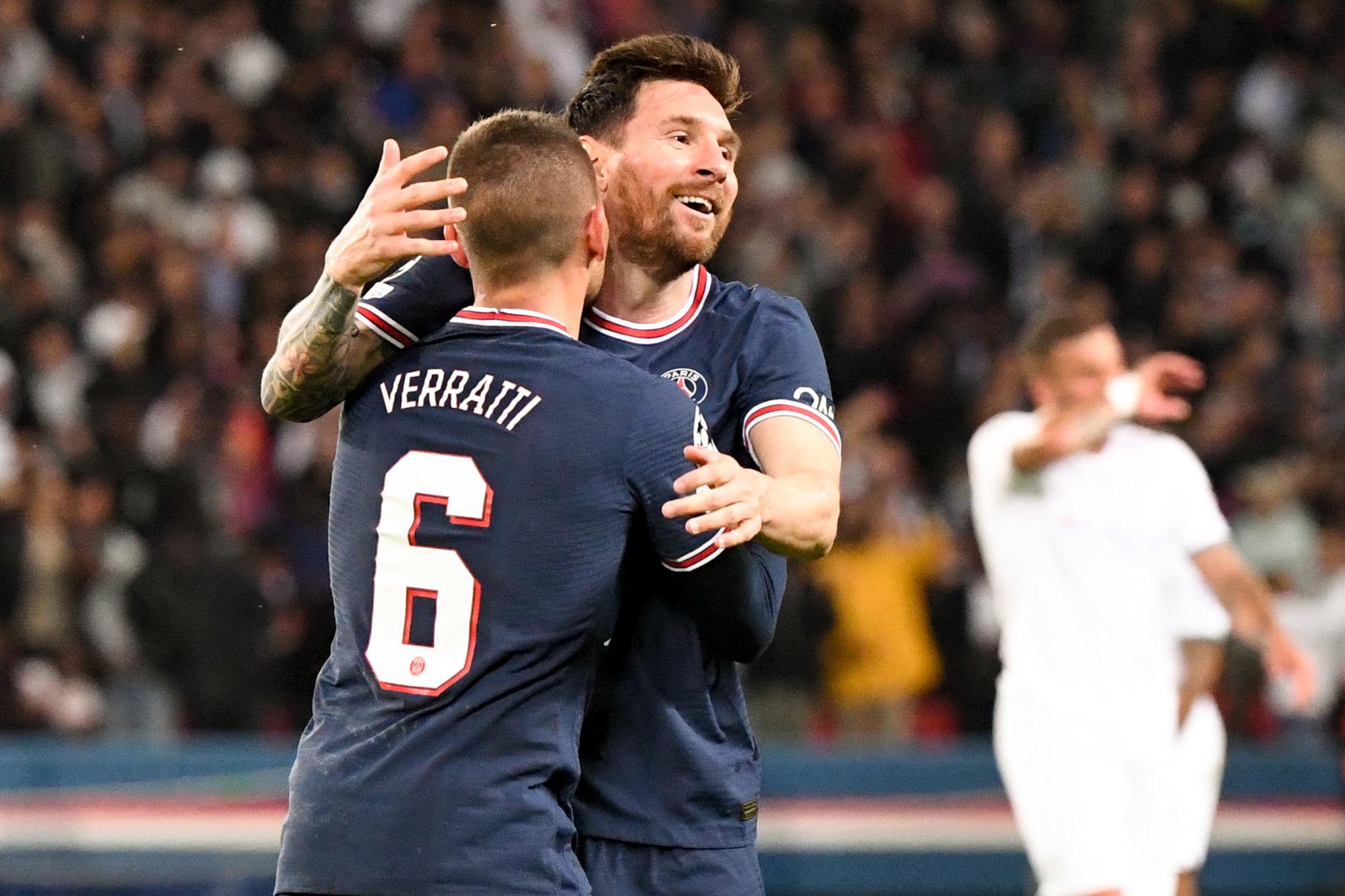 "Verratti évoque l'arrivée de Messi ""on va profiter"""