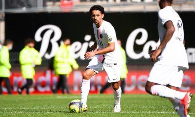 Rennes/PSG - Marquinhos élu meilleur joueur parisien par les supporters